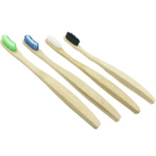 Toothbrush With Bamboo Handle